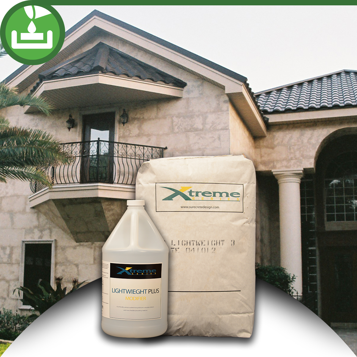 Lightweight Concrete Mix : Lightweight concrete casting mix kit bdc supply company
