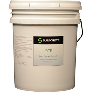 Scr concrete cleaner de greaser bdc supply company for Best rated concrete cleaner