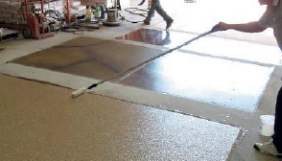 thin concrete overlay training